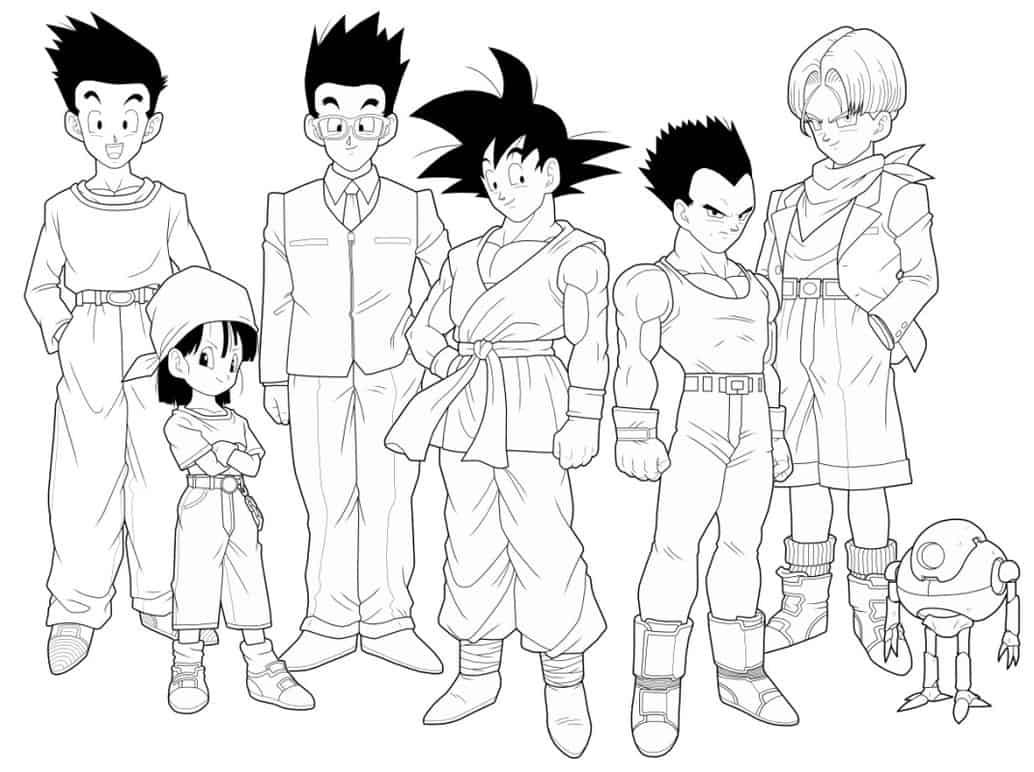 personagens anime