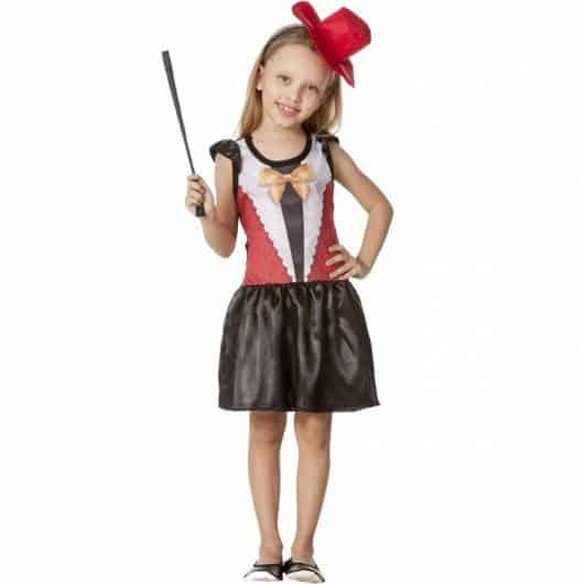 Fantasia super graciosa de mágico para meninas