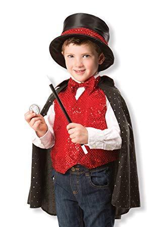 Fantasia completa de mágico para meninos