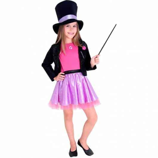 Meninas também podem se fantasia de mágico!