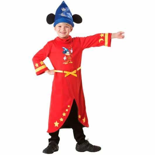 Mickey Feiticeiro é uma opção para crianças que gostam de magia