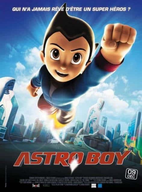 Filmes de robô Astro Boy