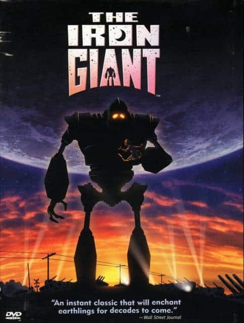 Filmes de robô O Gigante de Ferro