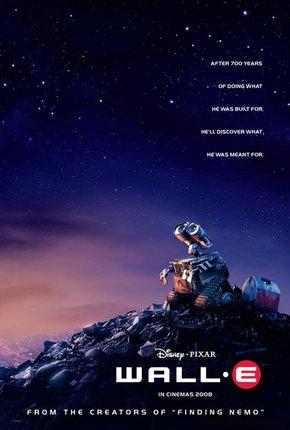 Filmes de robô Wall-E