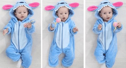 Macacão pijama para bebês - Mercado Livre