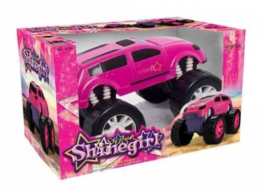 Presente Dia das Crianças para menina carro rosa