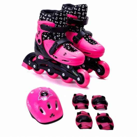 Presente Dia das Crianças para menina patins