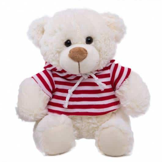 Presente Dia das Crianças para menina urso de pelúcia