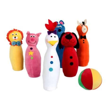 Presente Dia das Crianças para menino boliche de pelúcia