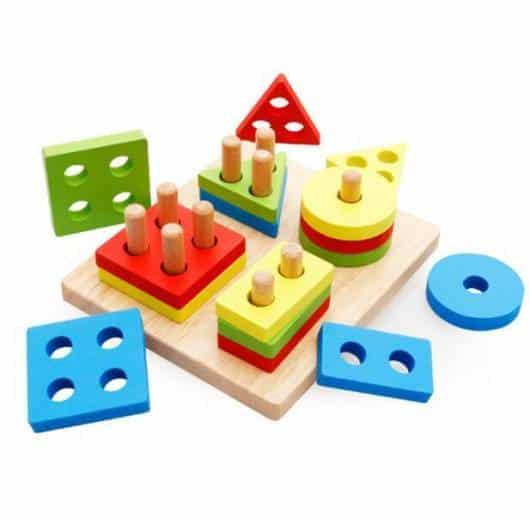 Presente Dia das Crianças brinquedo montessori