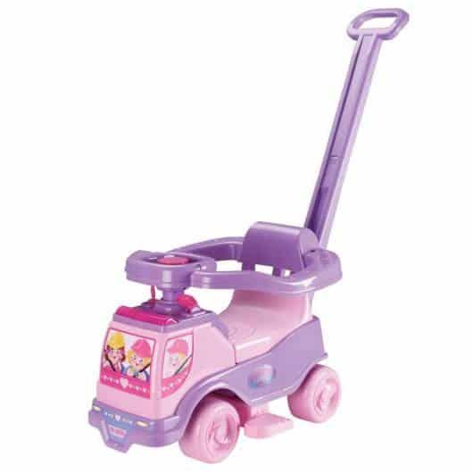 Presente Dia das Crianças para menina andador de empurras