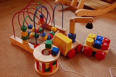 Presente Dia das Crianças brinquedo montessori labirinto