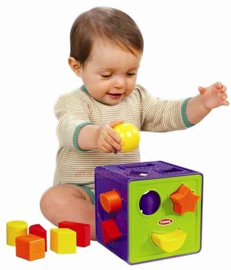 Presente Dia das Crianças para menina cubo de encaixe