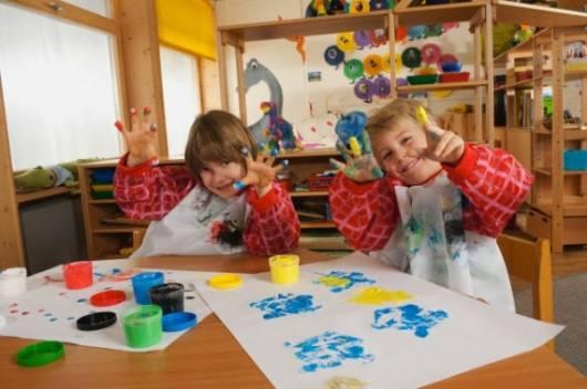 Programação dia das crianças: Pintura com guache