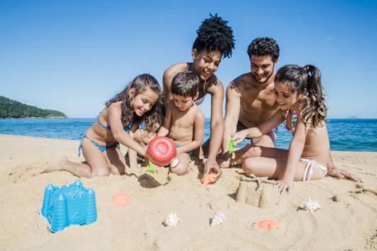 Programação dia das crianças: Ir a praia