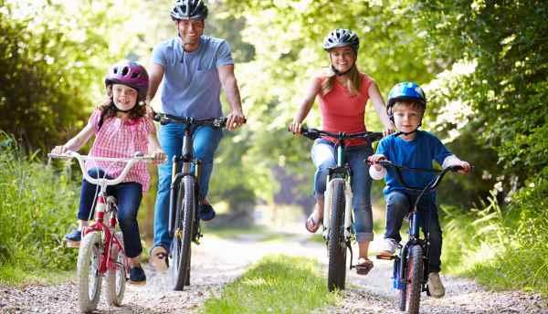 Programação dia das crianças: Andar de bicicleta