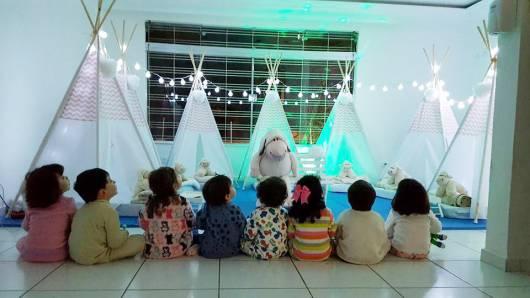 Programação dia das crianças: Festa do Pijama