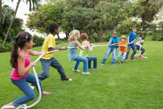 Programação dia das crianças: Cabo de guerra
