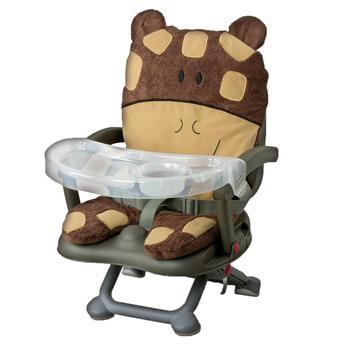Cadeira de alimentação: Booster de girafinha