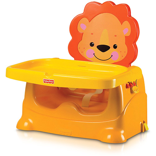 Cadeira de alimentação: Booster de leãozinho