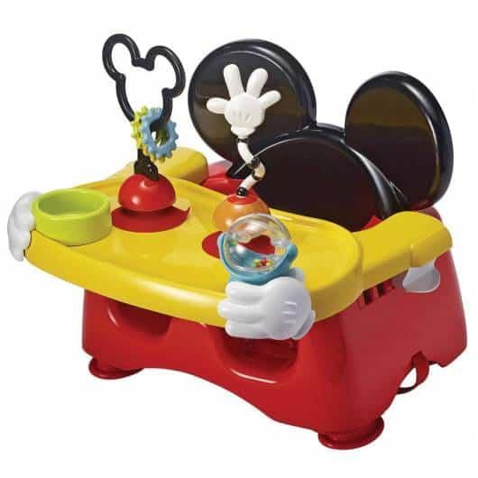 Cadeira de alimentação: Booster do Mickey