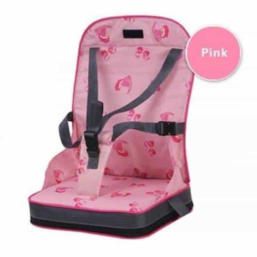 Cadeira de alimentação: Portátil rosa
