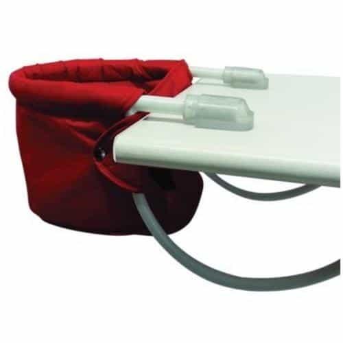 Cadeira de alimentação: Suspensa vermelha