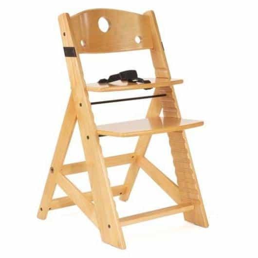 Cadeira de alimentação: Madeira