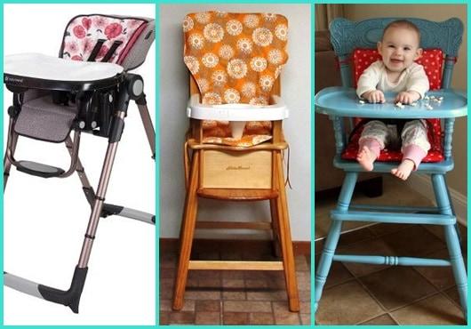 Cadeira de alimentação: Inspirações