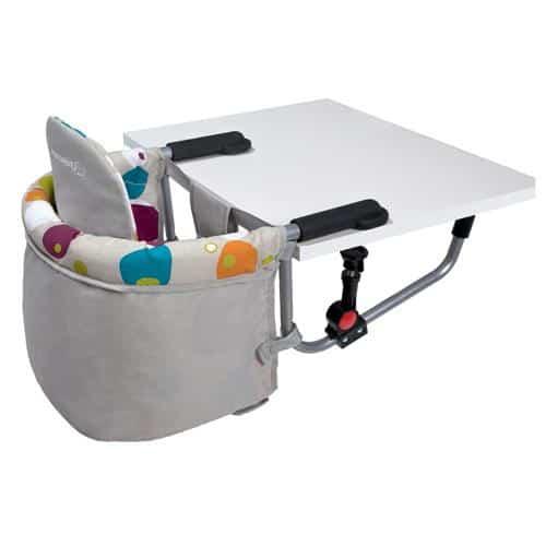 Cadeira de alimentação: Suspensa cinza