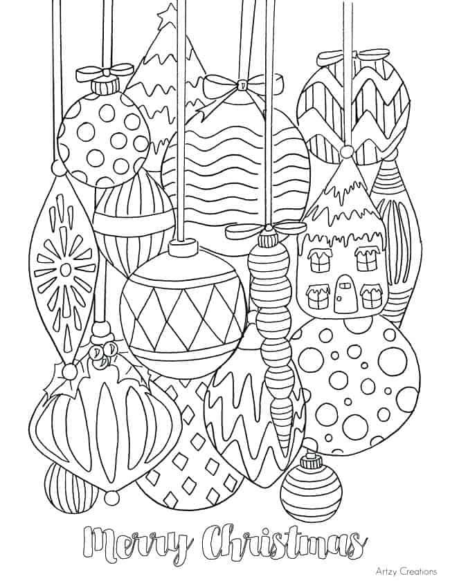 desenho natalino grátis