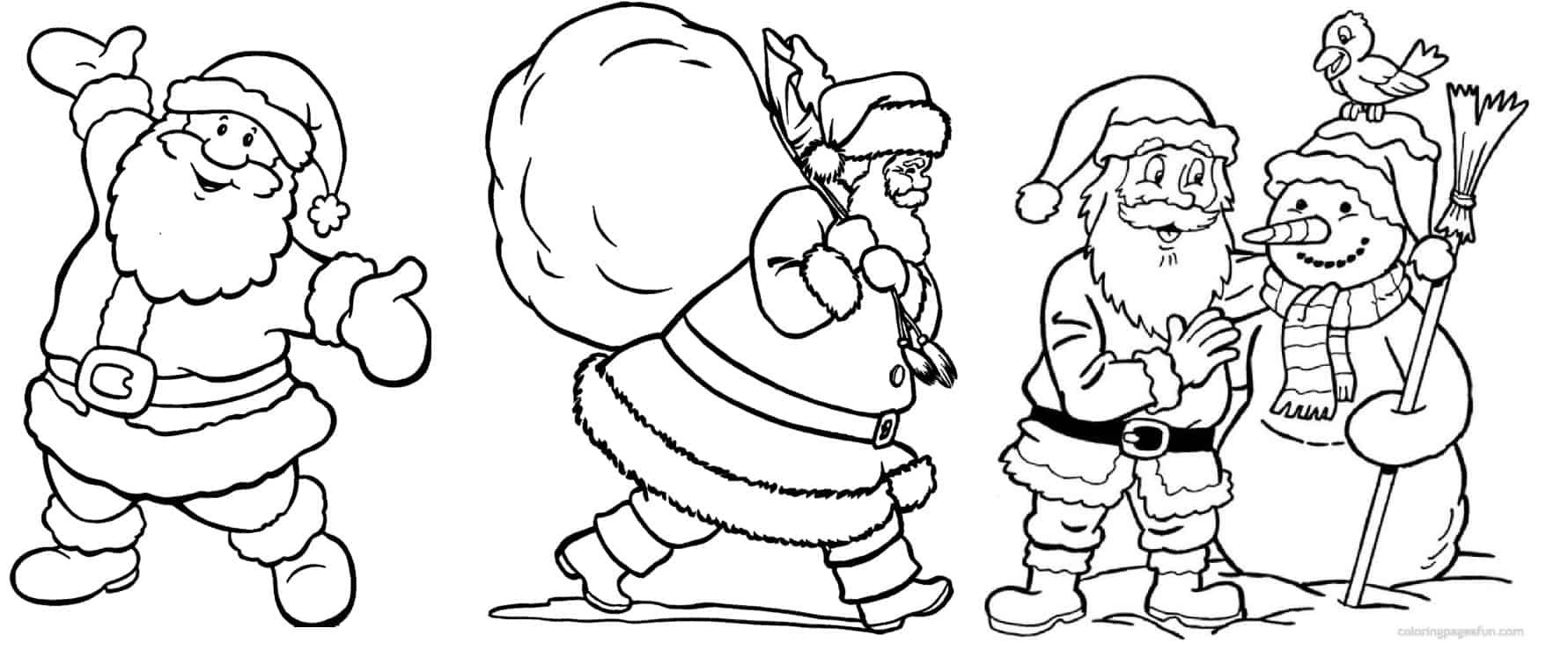 Desenhos De Natal Para Colorir: 135 Modelos Para Imprimir