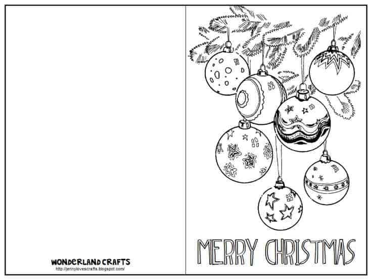 cartão simples de natal