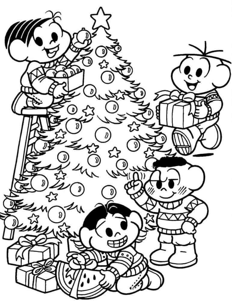 Desenhos De Natal Para Colorir 135 Modelos Para Imprimir Gratis