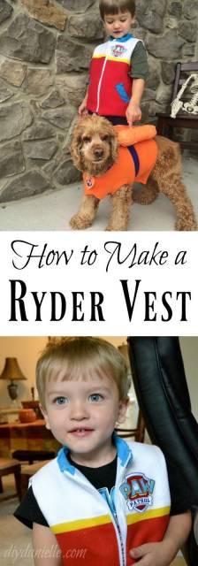 Fantasia Patrulha Canina: Ryder