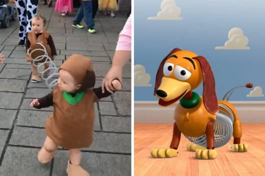 Fantasia Toy Story: Masculina Slinky