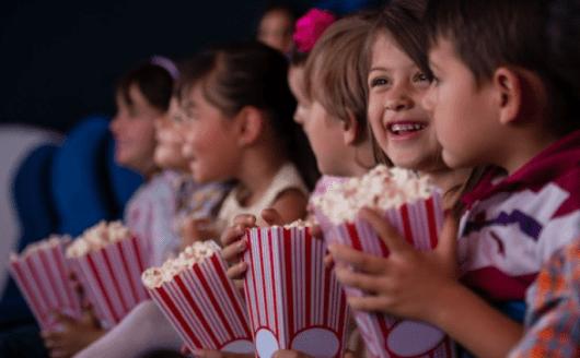 cinema para crianaças