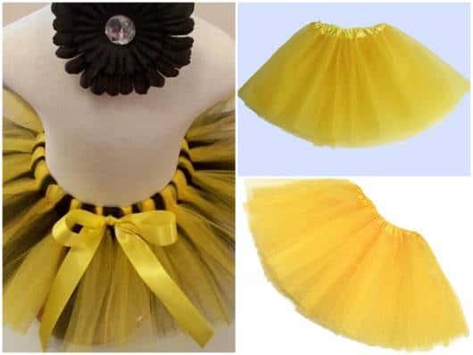 modelos de saias amarelas