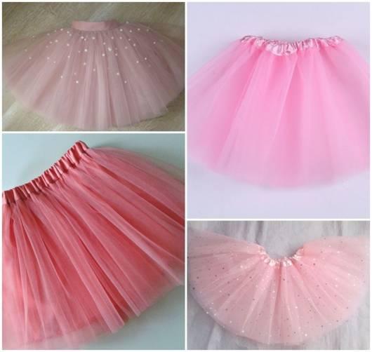 modelos de saia rosa