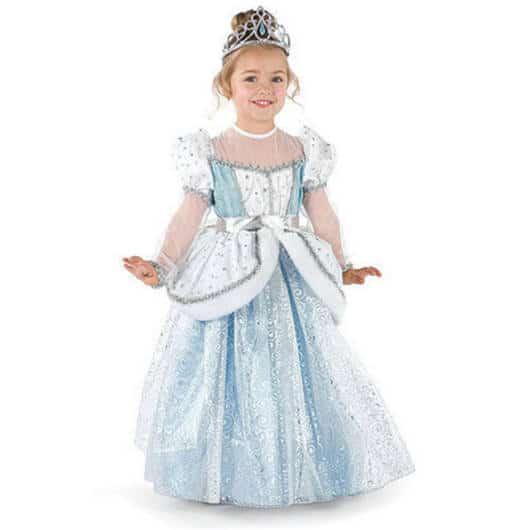 Vestido da Cinderela com babados