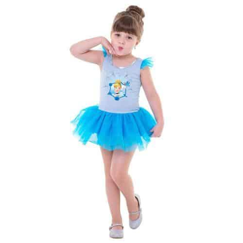 Fantasia da Cinderela no estilo bailarina