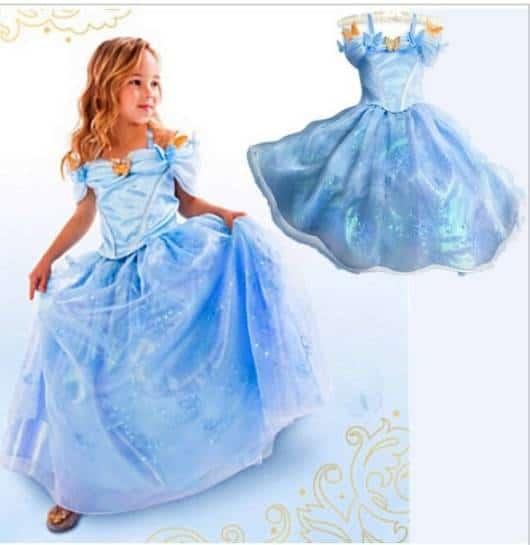 A saia bufante é característica do vestido de cinderela