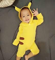 Pijama Pikachu Infantil pequena linda