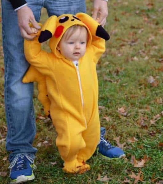 Pijama Pikachu Infantil para bebês