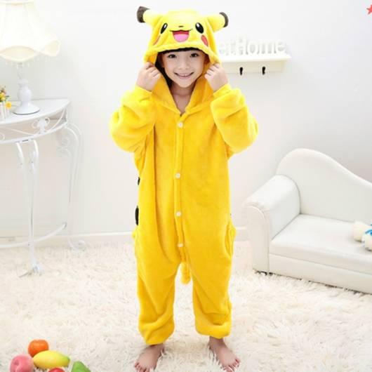 fotos de Pijama Pikachu Infantil