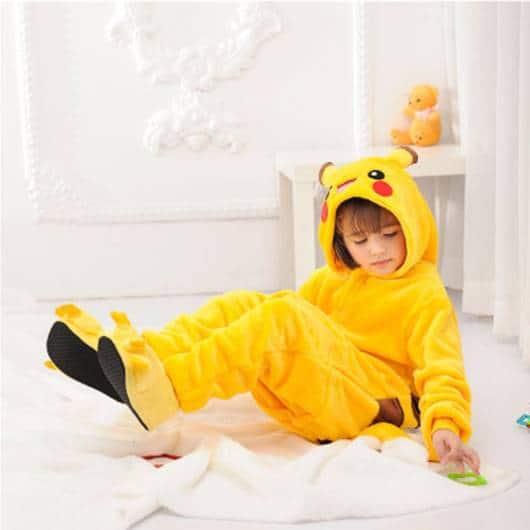 Pijama Pikachu Infantil confortável