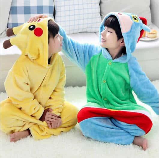 dicas de Pijama Pikachu Infantil