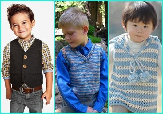 Colete Infantil Masculino: Modelos para se inspirar