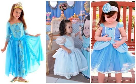 As fantasias de Cinderela são excelentes para aniversários