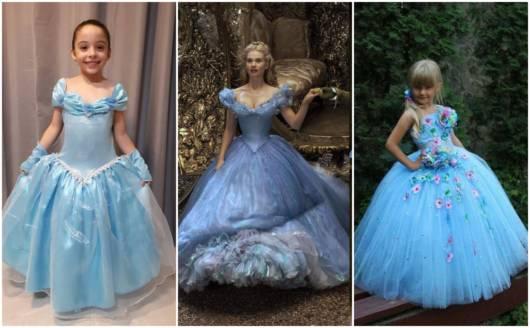 As fantasias são inspiradas nos filmes da Disney
